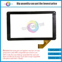 Wholesale Digitizer 9inch Tablet - Wholesale- Free shipping cheap 9inch touchscreen touch panel digitizer glass for tablet MF-806-090F FPC