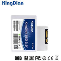 Wholesale Ssd Hard Drive 8gb - Original KingDian S100 SSD Solid State Drive 2.5 inch SATA2 Hard Disk 8GB For Laptop