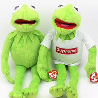 Wholesale Stuffed Frog Animal Toy - Demishop Original The Muppets Kermit the Frog Stuff Animal Cute Plush Toy Baby Birthday Gift 40cm