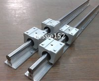 Wholesale 2 x SBR12 mm MM FULLY SUPPORTED LINEAR RAIL SHAFT SBR12UU Block Bearing