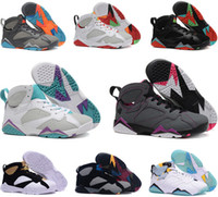 Cigare De Femme Pas Cher-Air retro 7 UNC Pantone University Blue Tinker Alternate Olympic Oeufs Bordeaux Cigar Cardinal French Blue GMP chaussures de basket-ball femme