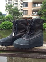 Wholesale Classic Leather Boots For Men - 2016 950 Boost Moonrock Pirate Black Boots For Women Men Kanye West Shoes Classic Sports shoes Boots Shoe Online Sale Store