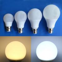 Wholesale 24v 3w bulb online - PACK OF B22 W W W W LED Globe Bulb SMD Energy Saving Light AC V AC DC V