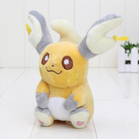 "Wholesale Pikachu Plush Doll Christmas - Hot ! 5"" 13cm Raichu pikachu Pokémon Pocket Monsters Plush Doll Toy For Baby Gifts 040 NEW"