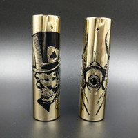 Wholesale Eyes 25mm - Newest Rogue Spider Eye Rogue Hat USA Mech Mod Brass Material Electronic Cigarette Vaporizer 25mm Vape Mods DHL Free
