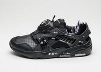 Wholesale Disc Shoes - Wholesale- Cheap Brand Shoes Trinomic 698 Black Graphers Rock x Disc Blaze Retro Running Shoes High quality 36-44