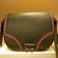 Wholesale Horse Hair Leather Handbags - good luxury famous brand bags for women Horse hair rivet bag women bag leather L* women handbag free shipping m41234 M40113 M40158