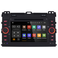 Wholesale Toyota Land Cruiser Special - Joyous(J-8826) Double Din Quad Core 7 inch Android 5.1.1 Car DVD Player Touch Screen For Toyota Prado 1024*600 HD Car Stereo
