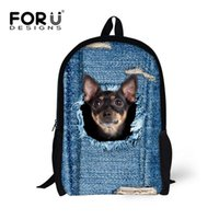 Wholesale 3d Vivid Bag - 2016 Fashion 3D Designer Backpack for Men and women Unisex Vivid Animal Print Shoulder Bag for Adults and Children Unisex
