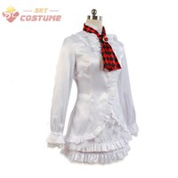 Gioco Tekken 6 LILI White Dress Set completo Halloween Party Costume Cosplay