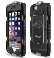 Wholesale Heavy Duty Armour Iphone Case - MB Heavy Duty hybrid Armour Case for iPhone 6 6S plus with Built-in Screen Protector With Retail Package DHL SCA129