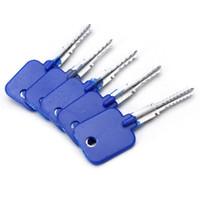 goso key set achat en gros de-Haute qualité NOUVELLE GOSO Cross Lock essai clé de la porte de la maison professionnelle déverrouiller outils de serrurier serrure choisir ensemble