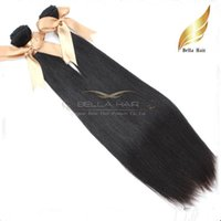 Wholesale Hair Weave Sold Bundles - Best Selling Hair bundles 100% 9A Brazilian Remy Virgin Remy Human Hair Weft Silky Straight Natural Color Free Shipping Bella Hair