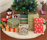 paquets de fête de noël achat en gros de-2016 noël Emballage En Papier Cadeau Emballage Sacs De Noël Papier D'emballage En Papier Parti Décoration 70 cm * 50 cm multi taille