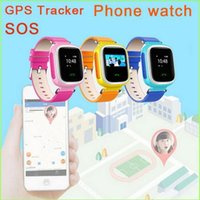 Kid GPS Smart Watch Orologio da polso SOS Call Locator Finder Locator Tracker per Kid Anti Lost Monitor baby Gift Q60