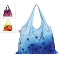Gros-Grande capacité femme No2 réutilisable écologique beau Voyage de mode Waterproof shopping sac fourre-tout sac à main épicerie couleurs mix