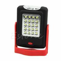 Wholesale Bivouac Lantern Led Light Lamp - Wholesale-Free Shipping Bright 20+3 LED Work Light Hook Flashlight Bivouac Camping Lantern Lamp Magnetic