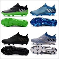 Wholesale Cheap Spiked Shoes For Men - Adidas Messi 16+ Pureagility FG AG Football Shoes Men Soccer Cleats Top Quality For Sale Men's Soccer Shoes Cheap Sports Shoes Free Shipping