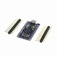 Wholesale Arduino Pin Header - Free Shipping New Pro Micro for arduino ATmega32U4 5V 16MHz Module with 2 row pin header For Leonardo 10PCS LOT best quality
