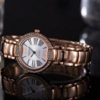Wholesale Movement Quartz Watch - Hot Sale Luxury Women's Wristwatches Vogue Brand Wedding Romantic Korean And European Style Couple Quartz Movement 060-4 Watches
