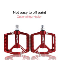 Wholesale Road Bike Pedal Aluminum - wellgo pedal mtb mountain bike pedals Aluminum Alloy cycling pedals parts cycling cleats