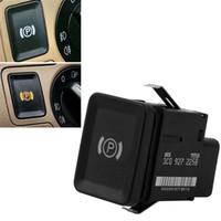 vw passat b6 switches al por mayor-Botón del freno del interruptor de estacionamiento del freno de mano del coche para VW Passat R36 B6 C6 CC 3C0927225C Venta caliente auto