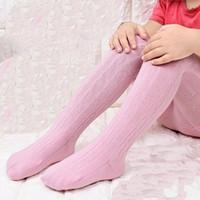 Wholesale Pantyhose Cotton Socks For Children - baby Leggings spring autumn girl's cotton stockings pantyhose children sock pants for kids