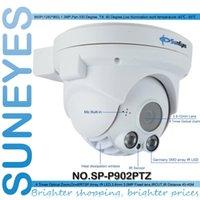 Wholesale Ir Ip Ptz Dome - SunEyes SP-P902PTZ ONVIF 960P HD PTZ Dome IP Camera with Zoom TF Micro SD Card Slot Array IR Night Vision Low Lux