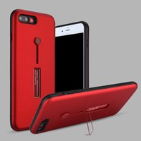 Wholesale Double Layer Ring - Luxury 2 in 1 Double Layer Ring Stand Holder Case for iPhone 6 6S Plus 7 7Plus