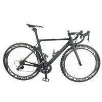 ruedas ud al por mayor-Bicicleta de carbono T1000 UD 2018 recién llegada completa bicicleta UD mate / cuadro brillante + ruedas + manillar + sillín + origina R8000 grupo completo de bicicleta