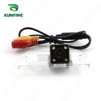 Wholesale Reverse Camera Ford Focus - HD CCD Car Rear View Camera for Ford Focus saloon 09 10 11 12 13 car Reverse Parking Camera Reversing Night Vision Waterproof KF-V1144