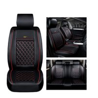 Wholesale Chevrolet Cruze Rear - ( Front + Rear ) Luxury Leather car seat cover for Chevrolet All Model Cruze Malibu Sonic Trax Sail auto accessories car styling