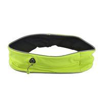 Wholesale Mobile Strips - Unisex Outdoor Cycling Waistpack Jogging Running Sport Waist Bag Reflective Strip Bag Fashion Malathon Mobile Phone Bag New 2509024