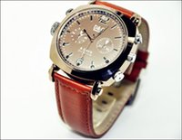 Wholesale Video Wrist Watches 32gb - High Quality Leather Wrist watch camera Waterproof HD1080P IR night version Spy Hidden camera 8GB 16GB 32GB Mini Video Recorder 205 watch