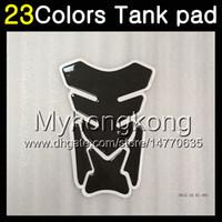 Wholesale honda blackbird - 23Colors 3D Carbon Fiber Gas Tank Pad Protector For HONDA CBR1100XX Blackbird 1100XX 2002 2003 2004 2005 2006 2007 96-07 3D Tank Cap Sticker