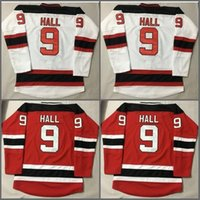 Wholesale Linen Fashions - 2017 New Jersey Devils 9 Taylor Hall Jersey New Style Red White Home Men Taylor Hall Ice Hockey Jerseys Fashion Stitched Embroider Logos