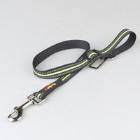 Wholesale Dog Fabric Collars Leads - Adjustable Pet Dog Cat Safety Leads Car Vehicle Seat Belt Harness Seatbelt Made from Nylon Fabric
