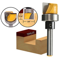 Wholesale Hinge Bit - 1 4 Inch Shank Hinge Mortise Template Router Bit Woodworking Milling Cutter