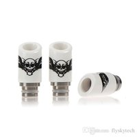 Wholesale E Cigarette Europe - E cigarettes drip tip hot 510 drip tip pyrex ceramic drip tip jade drip tip stainless steel drip tip Europe and America hot sale products