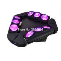 ingrosso illuminazione di progettazione di ragno-Mini design di nuova dimensione ADJ Kaos 3-Head LED Spider light Mini 9X10W Led Spider luci led fascio di luce dmx disco illuminazione dj