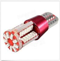 Wholesale Leds Canbus - 100PCS T10 3014 57SMD Leds Daytime Running Light Fog Light Canbus Free Decode 12V wholesale price