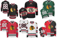 ingrosso porcellana di blackhawks-2016 New Cheap Chicago Blackhawk maglie Patrick Kane Jersey Mens Cina maglie Autentiche Chicago Blackhawks 100% cucito Hockey maglie