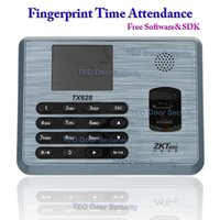 Wholesale Zk Software - ZK Software TX628 3200Users TCP IP Biometric Fingerprint Time Attendance Time Clock Employee Biometric USBRS232 485 ZKTeco TX628