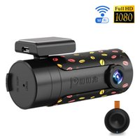 Wholesale Car Cam Wireless - Mini Wifi Car DVR Rotatable Lens Car Camera HD Night Vision Dash Cam Recorder Bluetooth Wireless Snapshot Auto Camcorder
