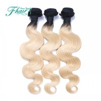 Wholesale very weave for sale - 7A Brazilian Hair Body Wave B Ombre Hair Extensions Ombre Brazilian Hair Weave Bundles Human Hair Extension Very Soft