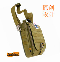 Wholesale Carry Golf Bags - Outdoor, military, one shoulder EDC with vertical backpack, portable carrying, flat bag, catch the nylon
