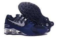 Wholesale New arrive shox avenue sport shoes casual shox men s leather breathable running shoes eur