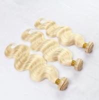 extensiones de cabello ruso grado al por mayor-9A Grade Best Quality European Russian Extensiones de Cabello Humano 3 unids / lote 10-30