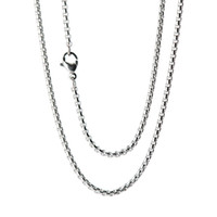 düşük fiyat zincirleri toptan satış-10 adet süper düşük fiyat Gümüş Paslanmaz Çelik 24
