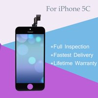Wholesale Cheap Spares - For iPhone 5C LCD Touch Screen Display Digitizer Assembly Replacement A+++ Quality with Pre-assembled Spare Parts Cheap Price